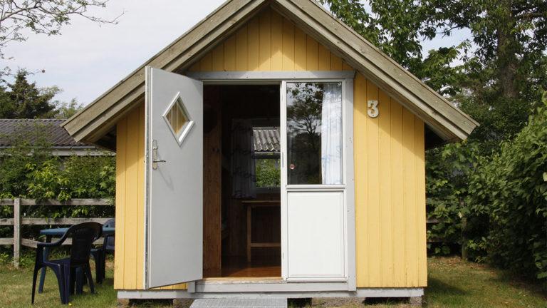 Hytte 1 på Læsø Camping
